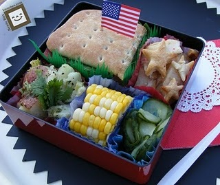 How To Create American Style Bento Box